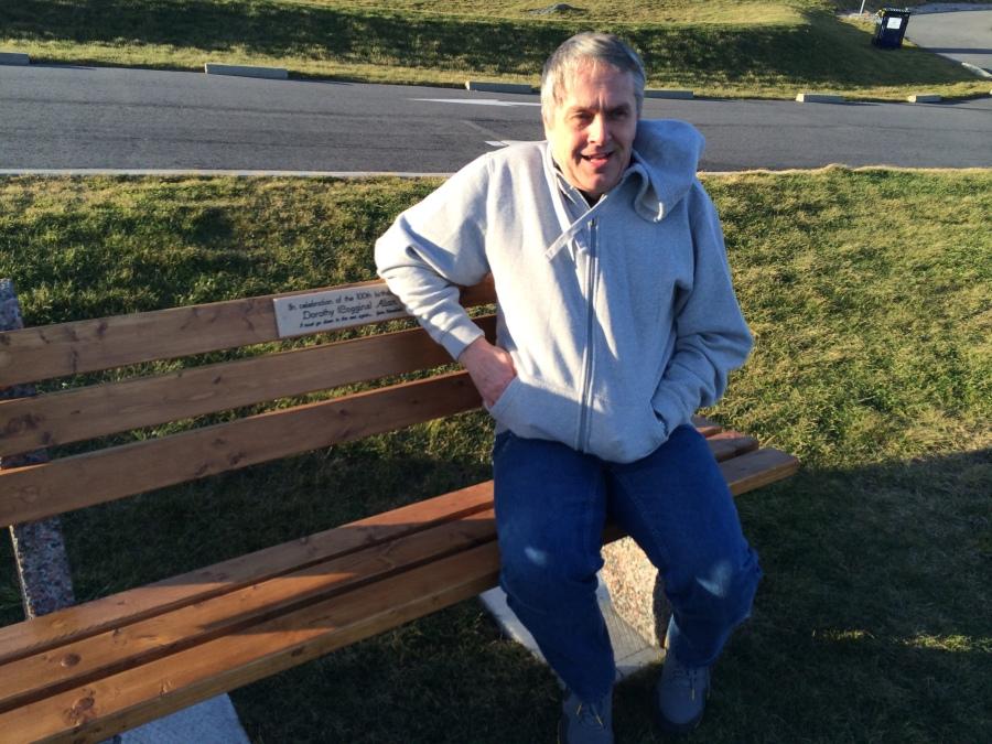 Gordon Treichel on a chilly day in December 2013