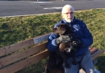 Me and my faithful hound Tico